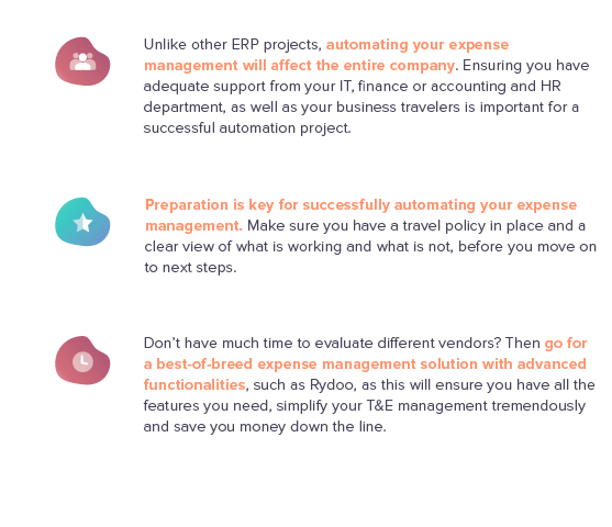 The 6-step Plan To Travel & Expense Management Automation - Rydoo