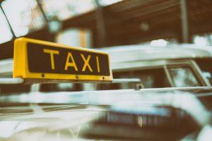 Taxi note de frais