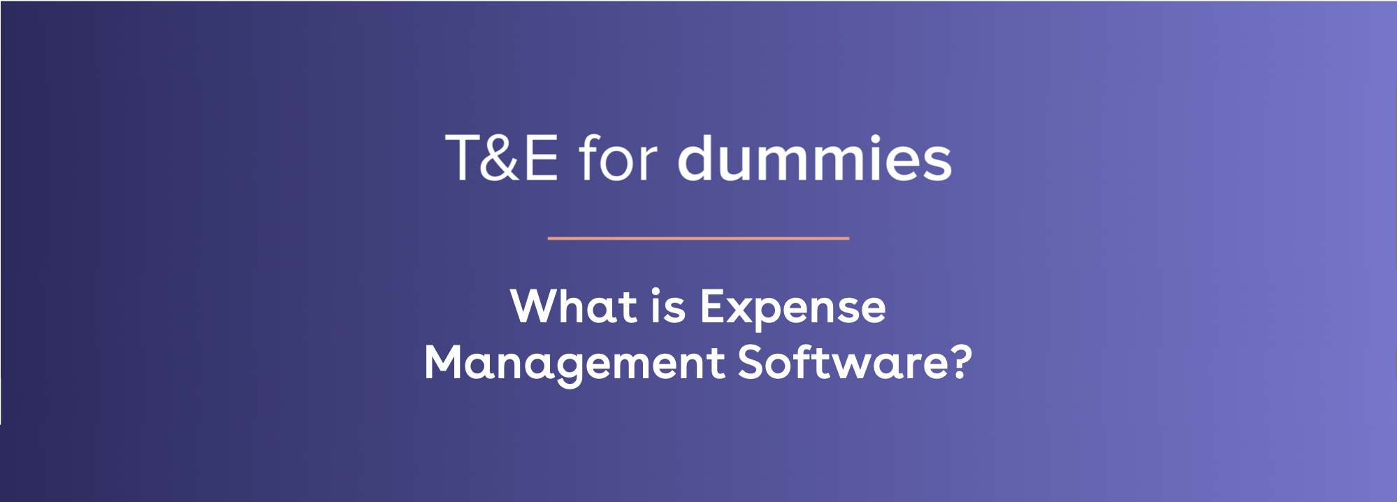 what is expense management software