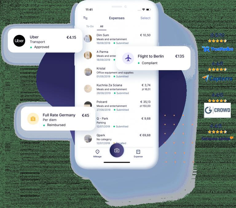 Header Mobile App