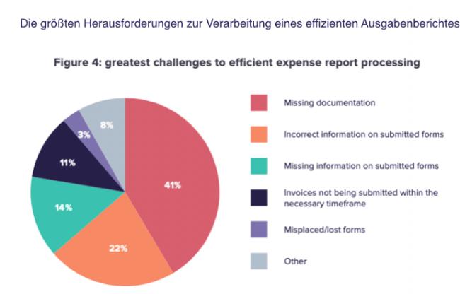 Herausforderungen Ausgabenberichte verarbeiten