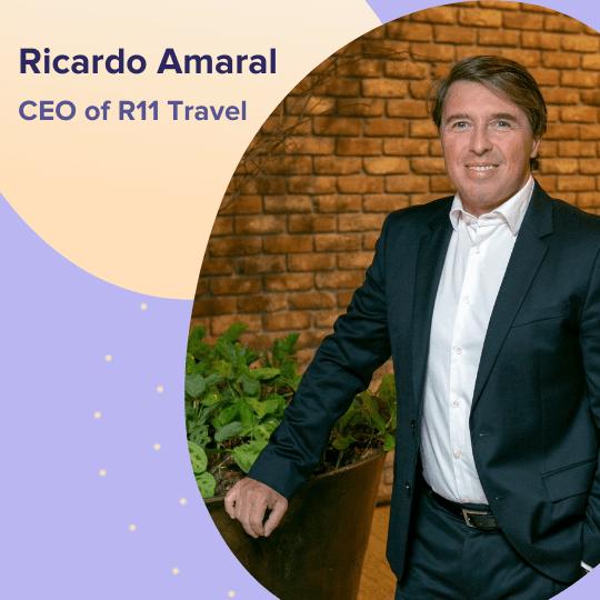 Ricardo Amaral - CEO of R11