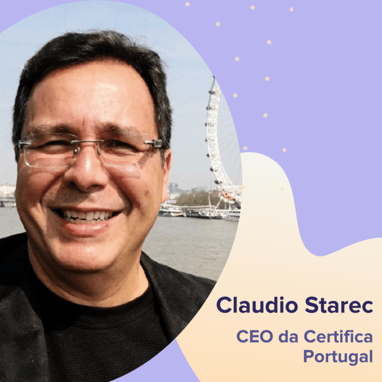 Claudio Starec - CEO da Certifica Portugal