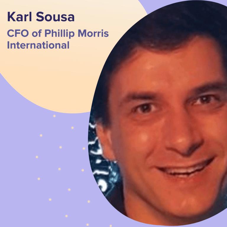Karl Sousa - CFO da Phillip Morris International