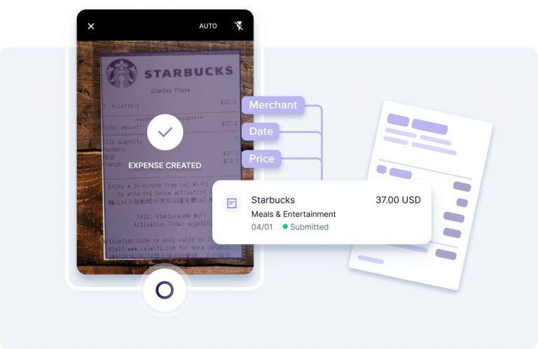aplicación de control de gastos - scan-receipt