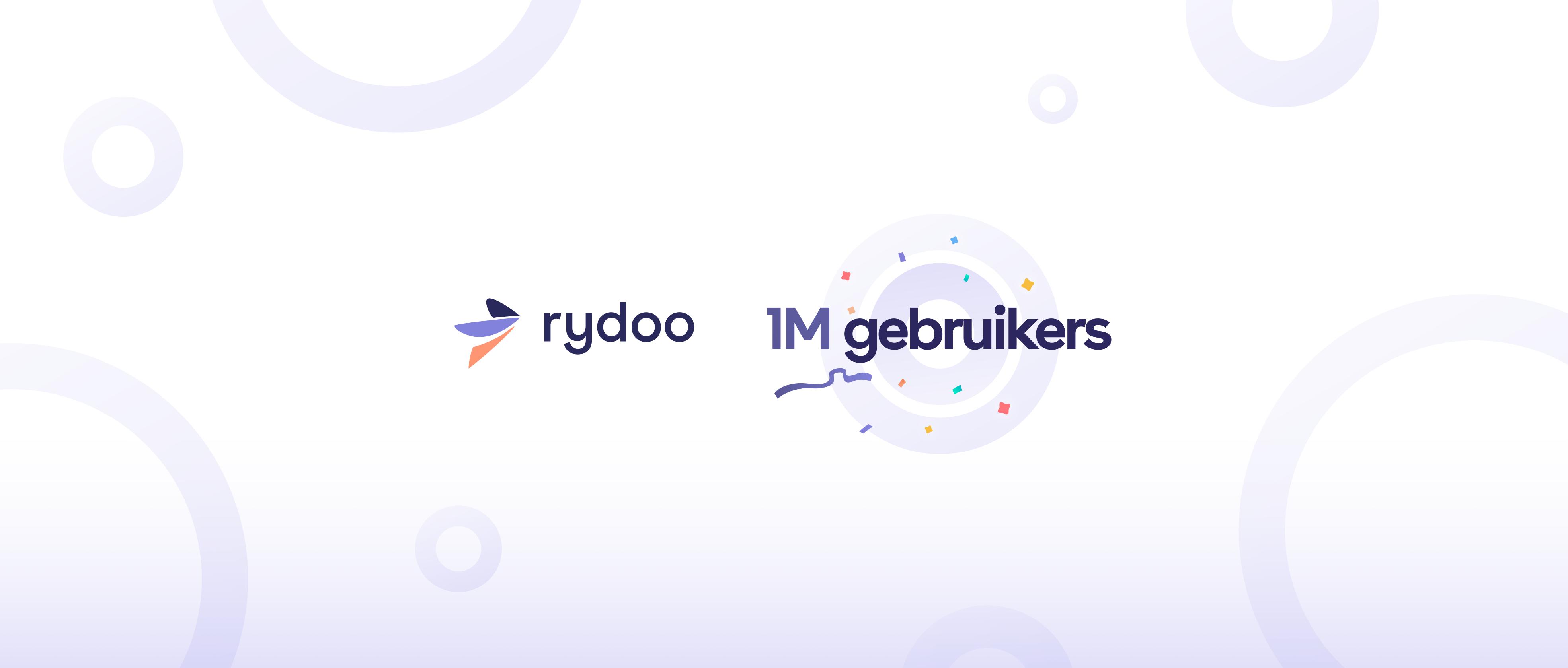 1 miljoen gebruikers Rydoo