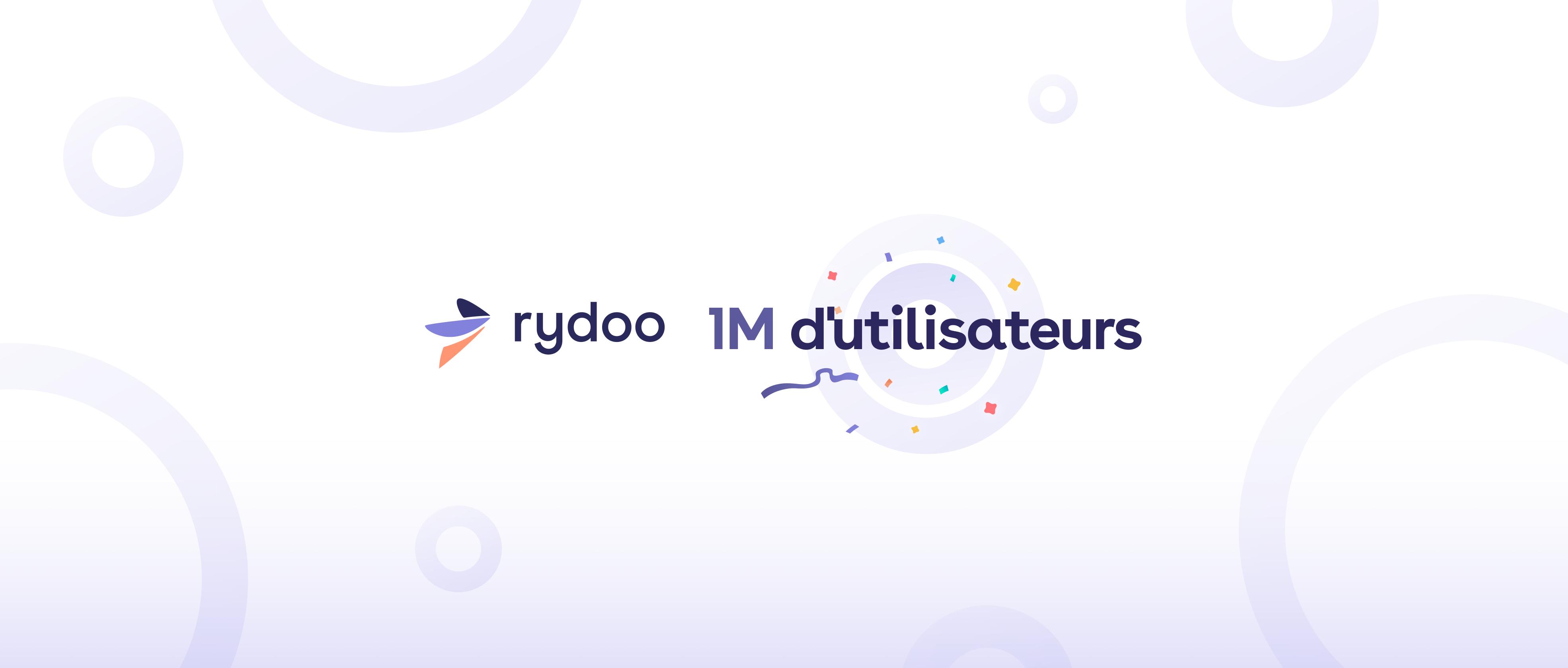 Rydoo - 1 million d'utilisateurs