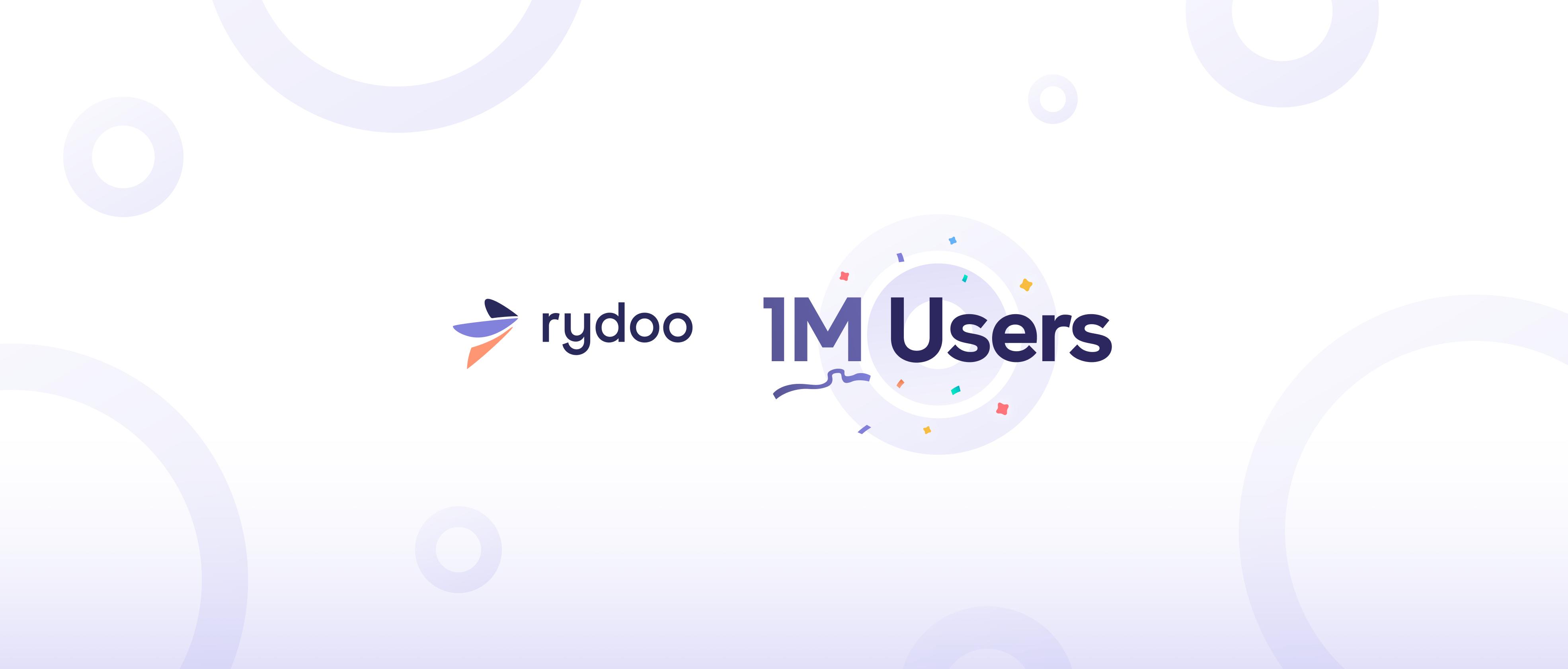 1 Million Users Rydoo