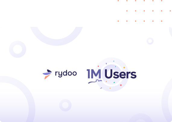Rydoo celebrates 1 million users