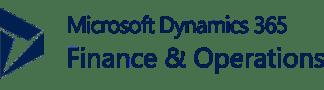 Logo Microsoft Dynamics 360 Finance & Operations